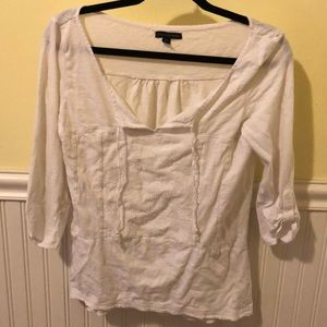 White AEO swimsuit cover up size S